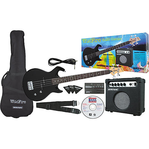 Drive WildFire Electric Bass Combo Pack