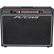 Wildcard 2x12 100W Tube Guitar Combo Amp and 4-Button Artist Footswitch Kit