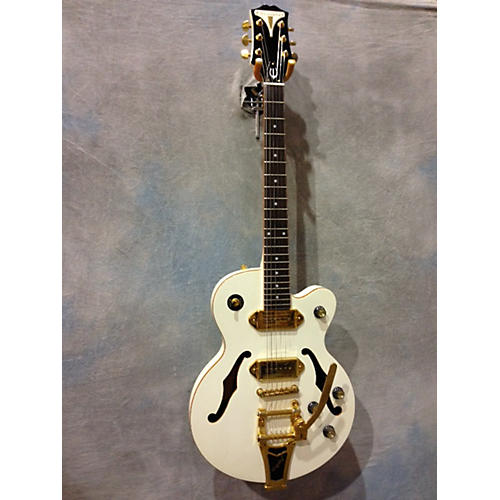 Epiphone Wildkat Pearl White Hollow Body Electric Guitar