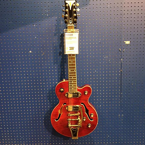 Epiphone Wildkat With Bigsby Wine Red Hollow Body Electric Guitar-thumbnail