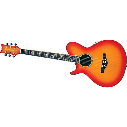 Daisy Rock Wildwood Artist Deluxe Left-Handed Acoustic-Electric Guitar-thumbnail