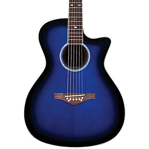 Daisy Rock Wildwood Artist Spruce Top Cutaway Acoustic-Electric Guitar by Daisy Rock