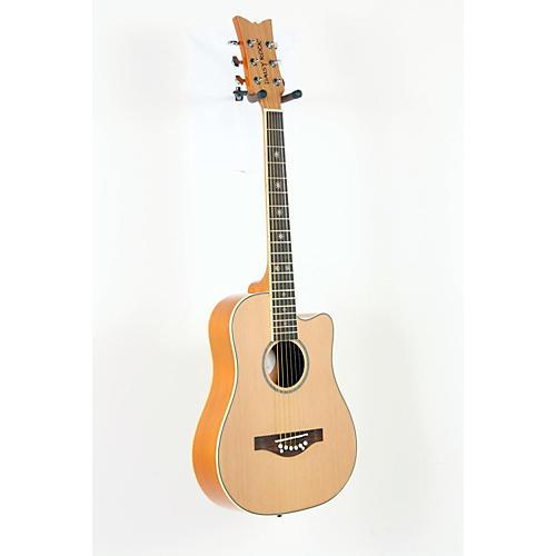 Daisy Rock Wildwood Short Scale Acoustic Guitar Bleach Blonde 888365139838