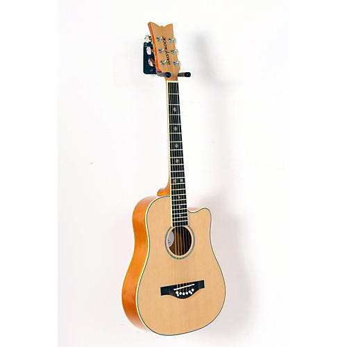 Daisy Rock Wildwood Short Scale Acoustic Guitar Bleach Blonde 888365173078