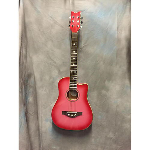 Daisy Rock Wildwood Short Scale Acoustic Guitar-thumbnail