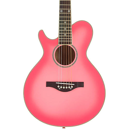 Daisy Rock Wildwood Short Scale Left-Handed Acoustic Guitar-thumbnail