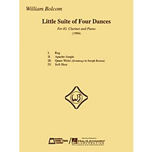 Edward B. Marks Music Company William Bolcom - Little Suite of Four Dances E.B. Marks Series Composed by William Bolcom