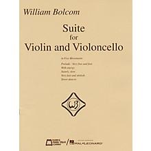 Edward B. Marks Music Company William Bolcom - Suite for Violin and Violincello E.B. Marks Series Composed by William Bolcom