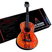 Axe Heaven Willie Nelson Signature Trigger Acoustic Miniature Guitar Replica Collectible