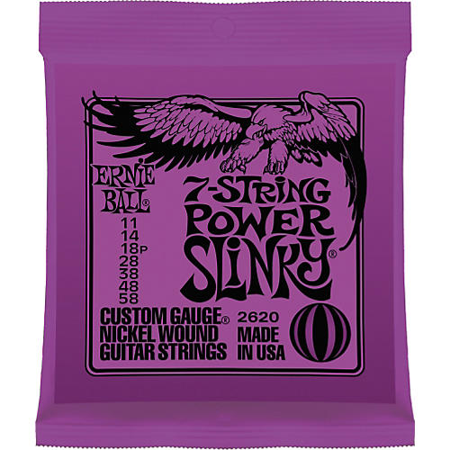 Ernie Ball Win a Slash Masterclass! - 2620 Nickel 7-String Power Slinky Electric Guitar Strings