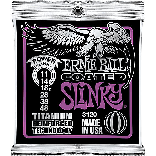 Ernie Ball Win a Slash Masterclass! - 3120 Coated Titanium Power Slinky Electric Guitar Strings-thumbnail