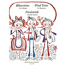 Editio Musica Budapest Wind Trios for Beginners EMB Series