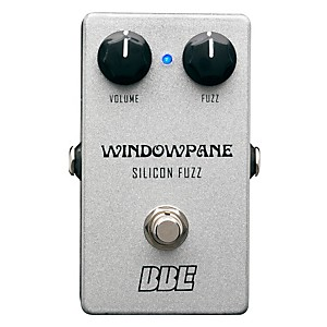 BBE Windowpane Silicon Fuzz Guitar Effects Pedal by BBE