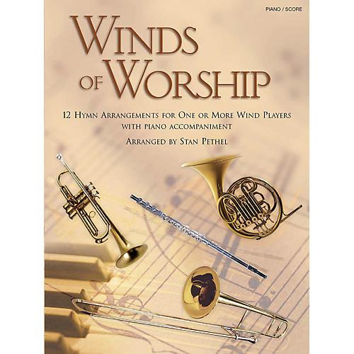 Shawnee Press Winds of Worship (Piano/Score) Piano Arranged by Stan Pethel