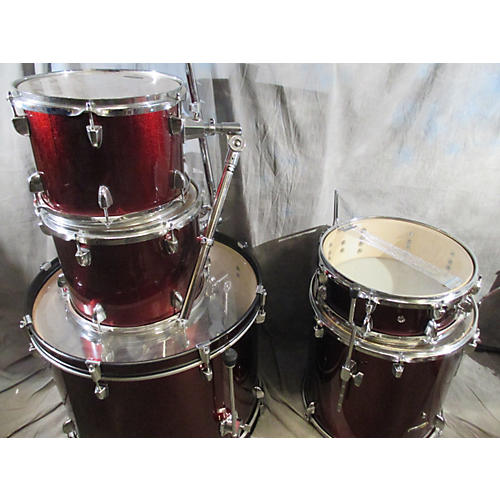 Sound Percussion Labs Wine Red Drum Kit-thumbnail