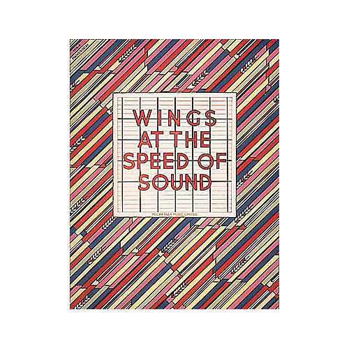 Hal Leonard Wings At The Speed Of Sound Piano/Vocal/Guitar Artist Songbook-thumbnail