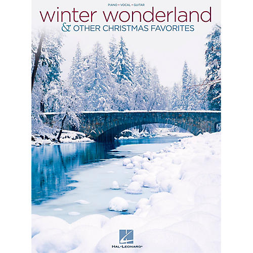Hal Leonard Winter Wonderland & Other Christmas Favorites Piano/Vocal/Guitar Songbook