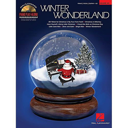 Hal Leonard Winter Wonderland Piano Play-Along Volume 124 Book/CD-thumbnail
