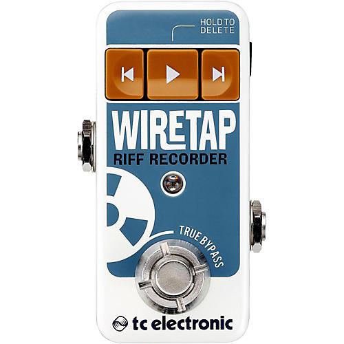 TC Electronic WireTap Riff Recorder Guitar Effect Pedal-thumbnail