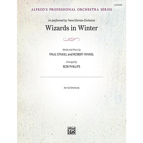 Alfred Wizards in Winter Full Orchestra Grade Professional