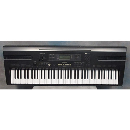 used casio wk110 76 key portable keyboard guitar center. Black Bedroom Furniture Sets. Home Design Ideas