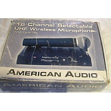 American Audio Wm-uhf16 Handheld Wireless System