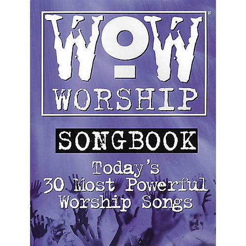 Integrity Music WoW Worship Blue Songbook