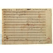 Axe Heaven Wolfgang Amadeus Mozart Music Manuscript Poster - Piano Concerto in A Major