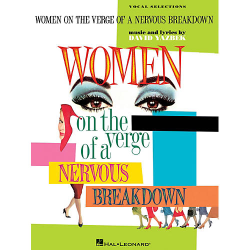 Hal Leonard Women On The Verge Of A Nervous Breakdown - Piano/Vocal Selections-thumbnail