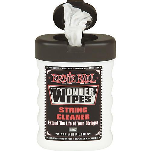 Ernie Ball Wonder Wipes String Cleaner-thumbnail