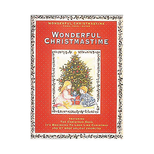 Hal Leonard Wonderful Christmastime Piano, Vocal, Guitar Songbook