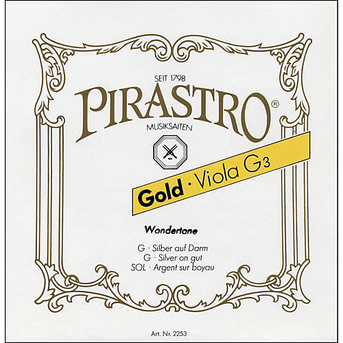 Pirastro Wondertone Gold Label Series Viola C String