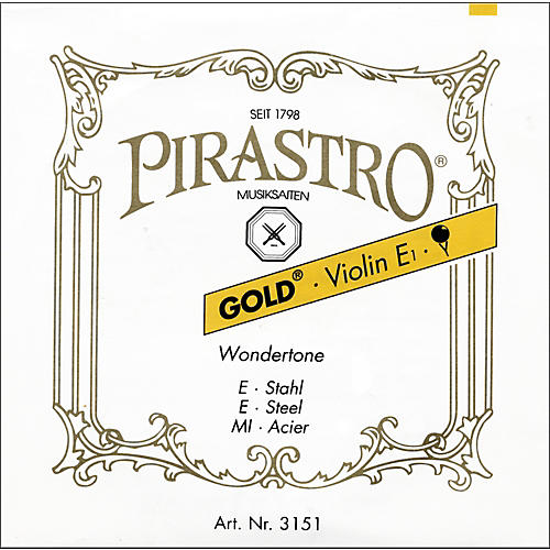Pirastro Wondertone Gold Label Series Violin E String-thumbnail