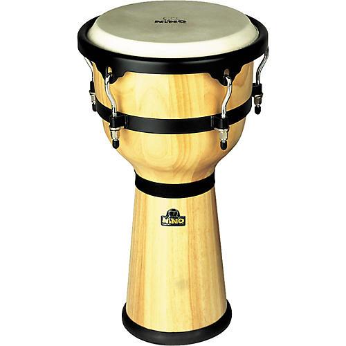 Nino Wood Djembe Drum Natural 10 in.