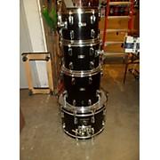 Pearl Wood Fiber Glass Drum Kit