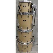 Pearl Wood-Fiberglass Drum Kit