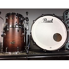 Pearl Wood- Fiberglass Drum Kit