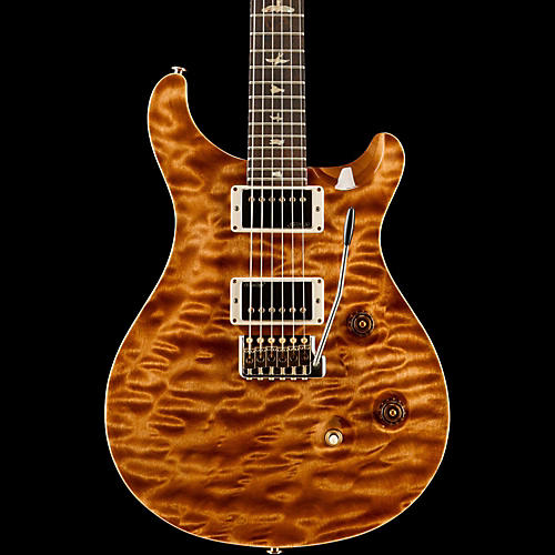 PRS Wood Library Custom 24 Quilted Maple 10 Top Electric Guitar Copperhead