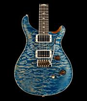 Wood Library Custom 24 Quilted Maple 10 Top Electric Guitar