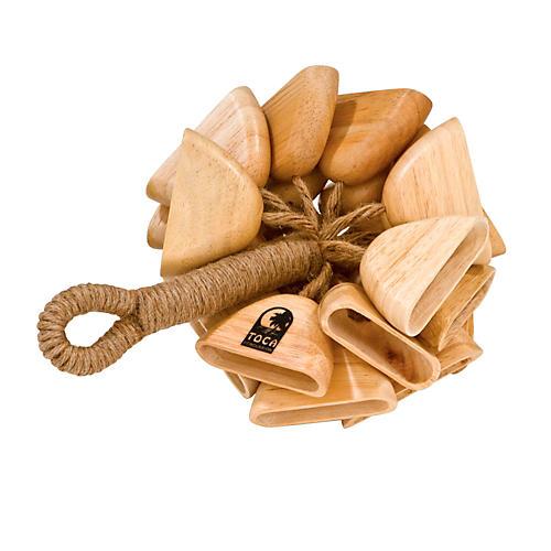 Toca Wood Rattle on Handle-thumbnail