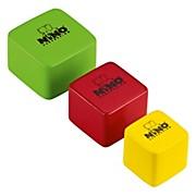 Nino Wood Shakers Square 3 Piece Set