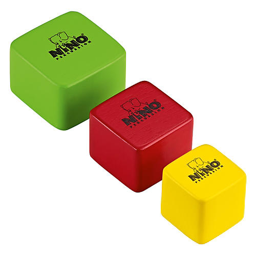 Nino Wood Shakers Square 3 Piece Set-thumbnail