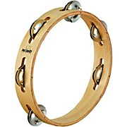 Nino Wood Tambourine 1 Row