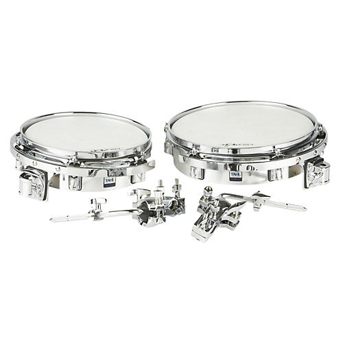 Taye Drums Wood Timbale Set with Mount