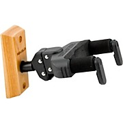 Wood Wall Guitar Hanger with Free AGS Lock and Key Set
