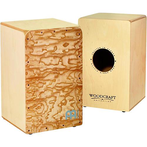 Meinl Woodcraft Collection Snare Cajon Ovangkol Frontplate Medium-thumbnail