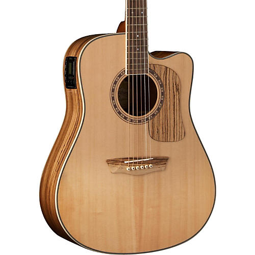 Washburn Woodcraft Series WCSD32SCE Dreadnought Acoustic-Electric Guitar-thumbnail