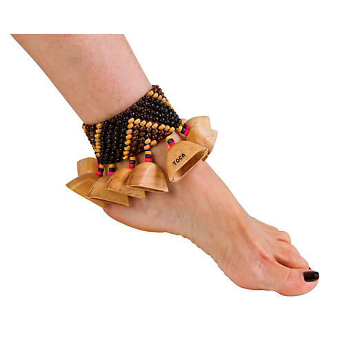 Toca Wooden Ankle/Wrist Rattle-thumbnail