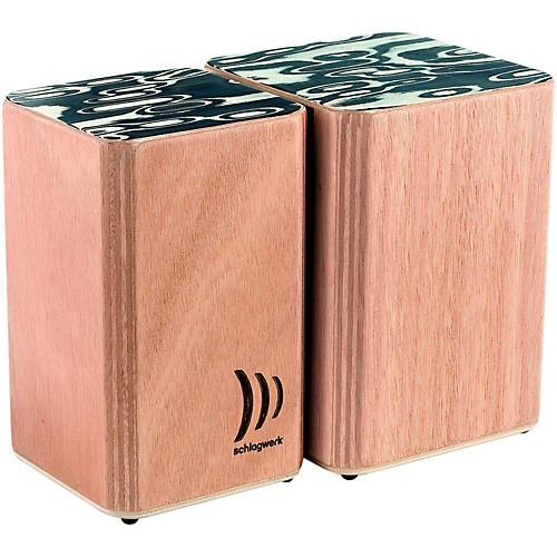 SCHLAGWERK Wooden Bongos-thumbnail