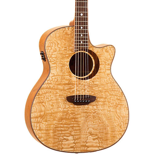 Luna Guitars Woodland Series Quilted Ash Acoustic-Electric Guitar-thumbnail